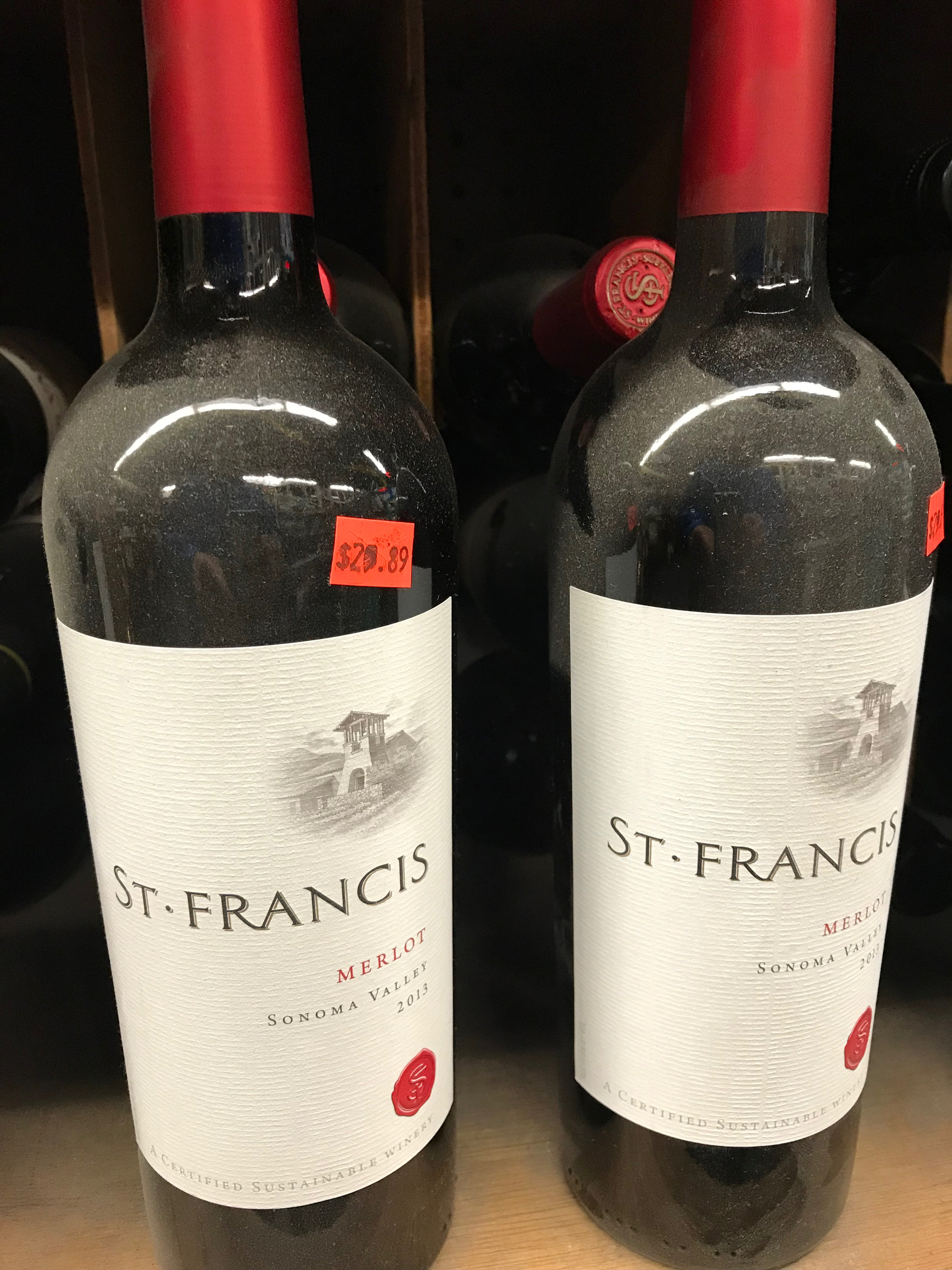 Buying a dusty bottle of red wine from a market with no air conditioning in Hawaii and taking it home to serve at room temperature would be misguided. For multiple reasons.