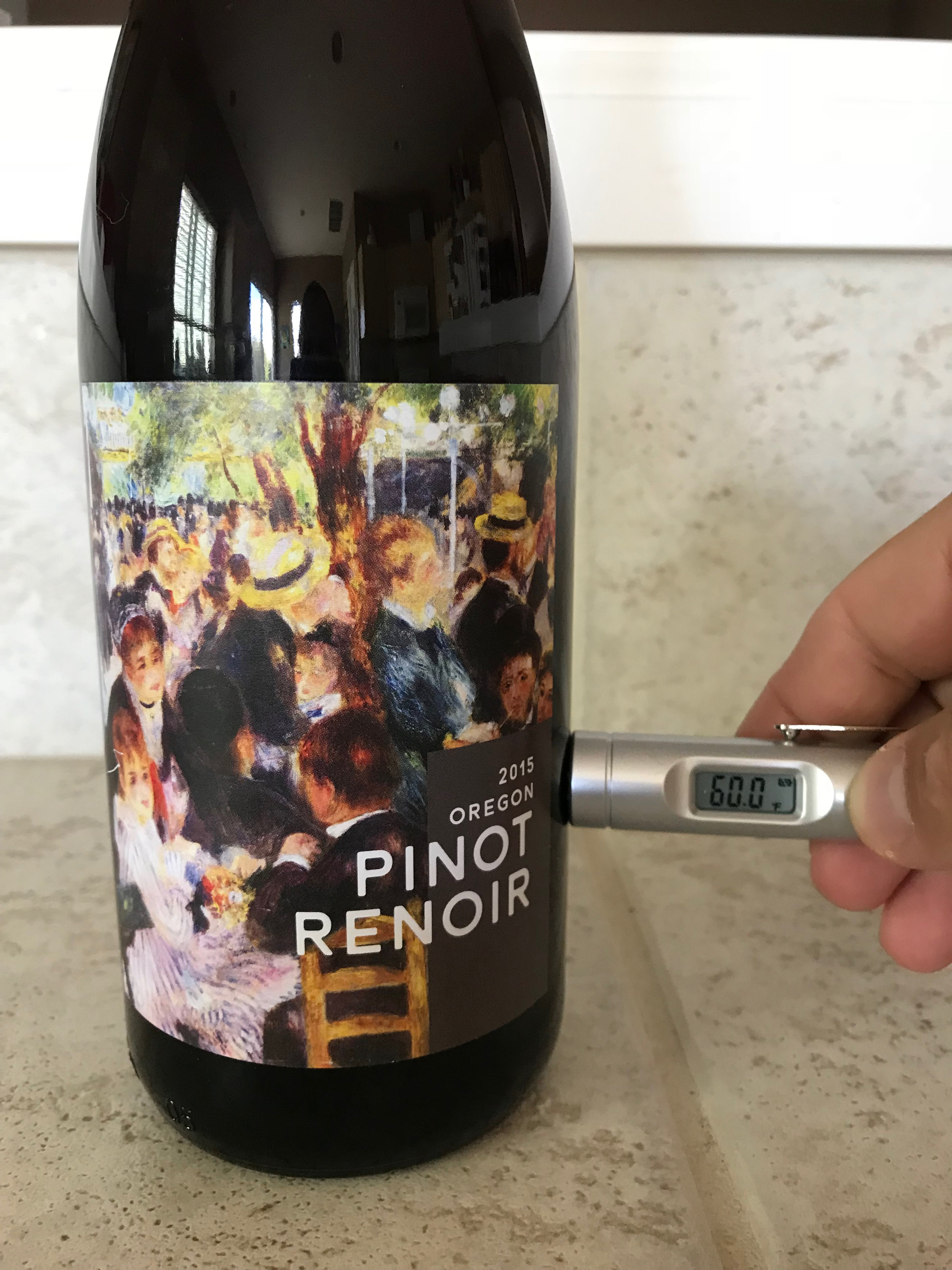 We have our 2015 Pinot Renoir exactly where I want it.