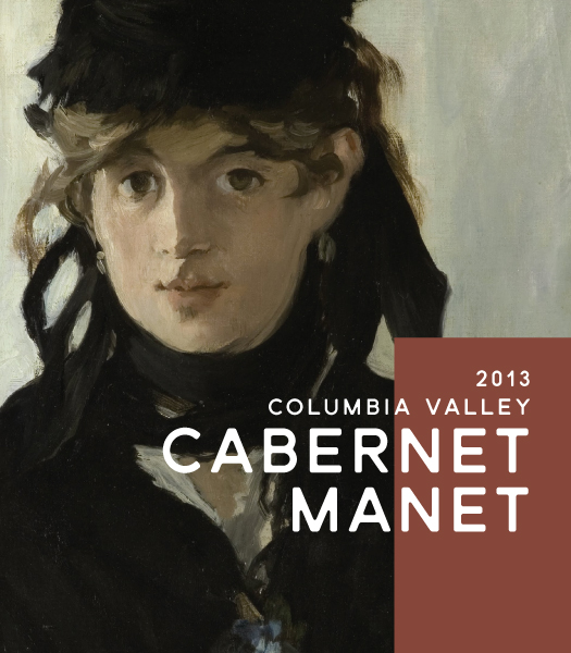 Here is our first Cabernet Manet label for our 2013 vintage.