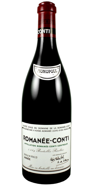 """""""DRC"""" is the most expensive wine in the world."""