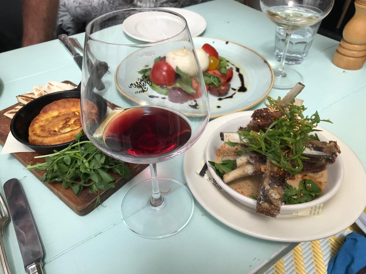 New Zealand Pinot Noir and New Zealand lamb. No more explanation necessary.
