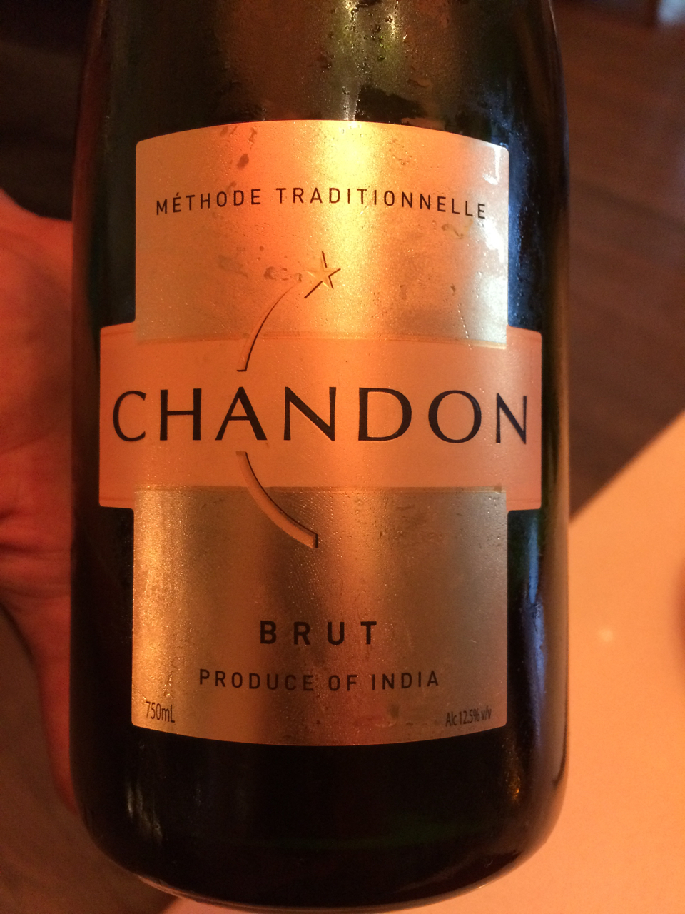Apparently, Chandon is all in on this pairing, too.
