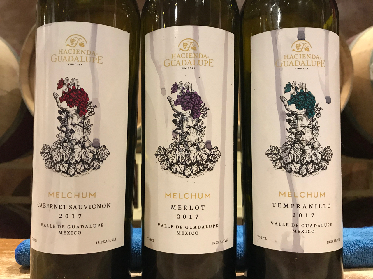 A trio of delightful wines.