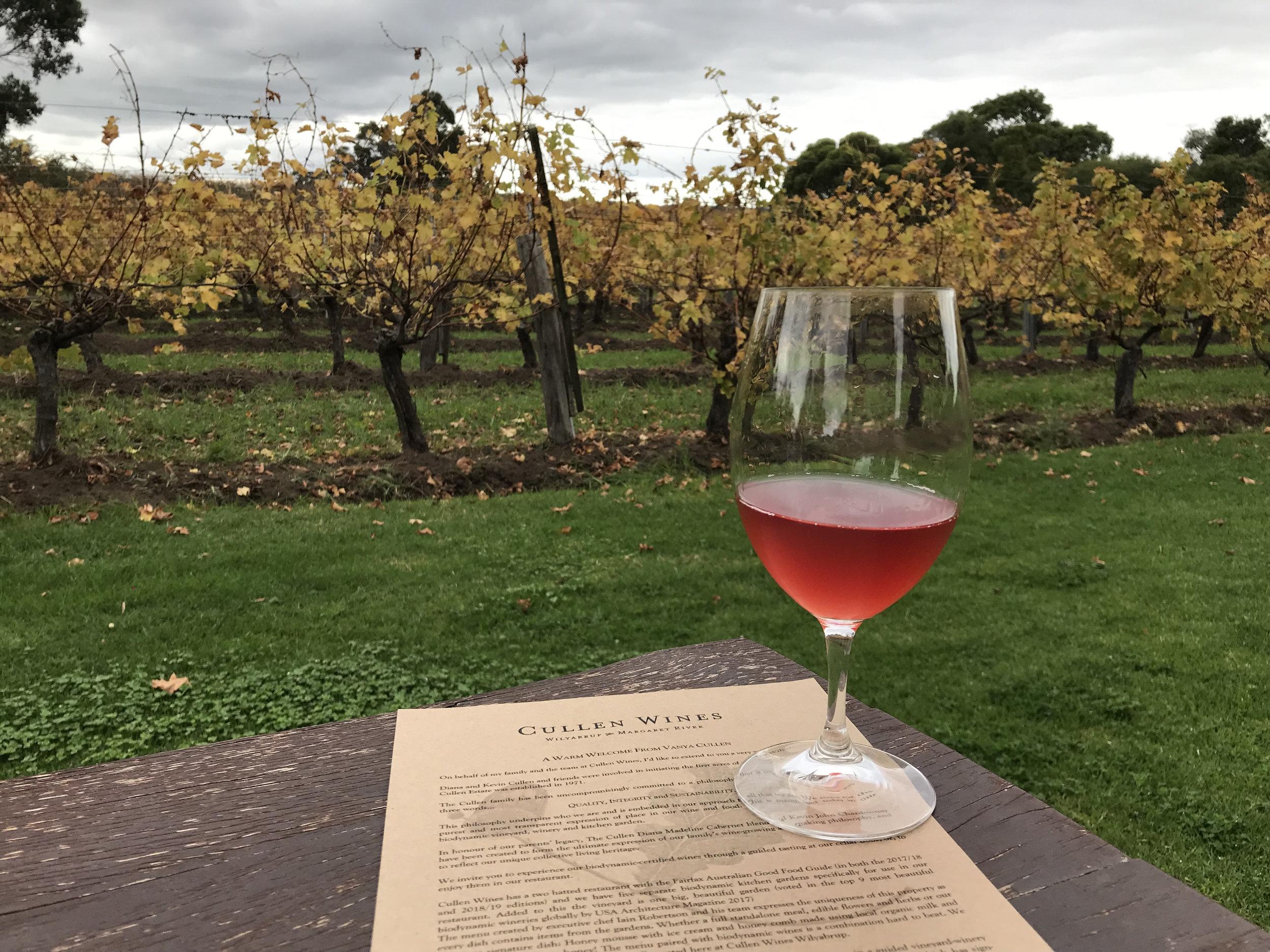 Pét-Nat and a respite at Cullen Wines.