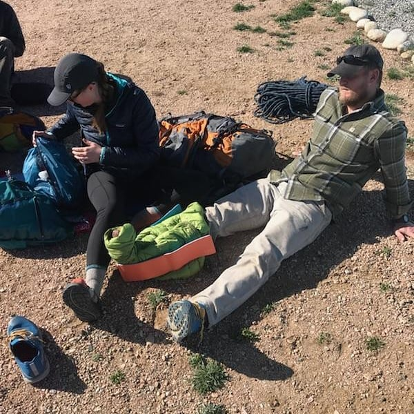 Refreshing medical skills is always a good use of time. Congrats to our WFR Recert students for updating their certifications with BVMA last weekend. Look for more SOLO Wildmed courses this Fall. #BVBackcountry #GoThereStartHere #SOLO