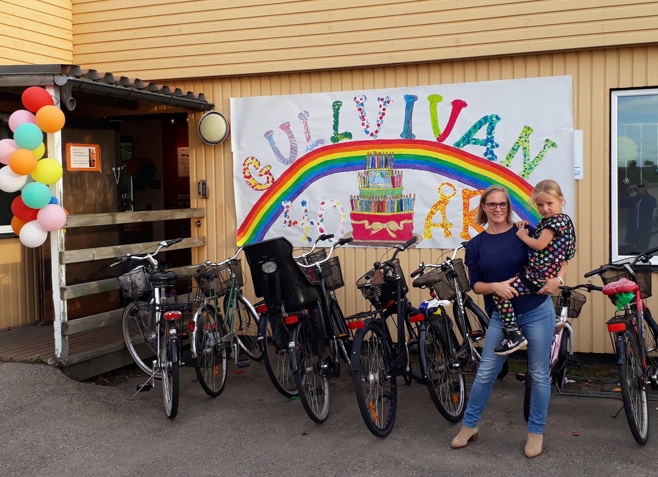 Besök på förskolan Gullvivan tillsammans med min dotter Vanna 6 år.