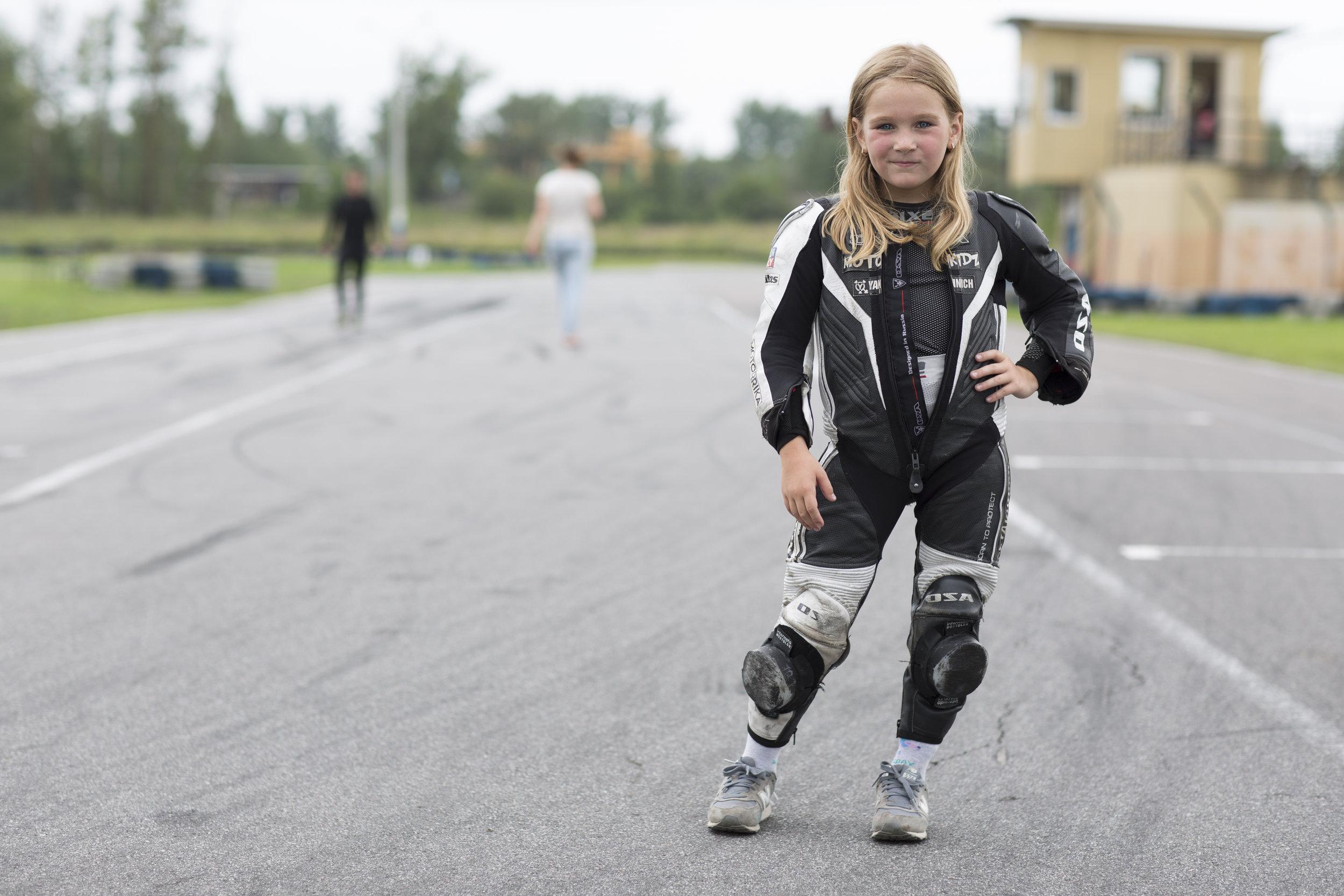 Alena Petrishina - the fastest girl in Russia