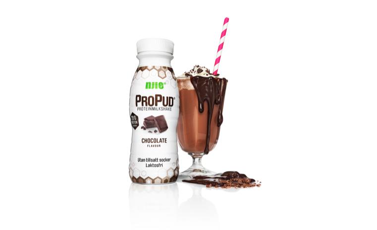 ProPud piimakokteil - Laktoosivaba, 20g proteiini, ei sisalda lisatud suhkrut. 330 ml = ainult 188 cal.maitse: šokolaad