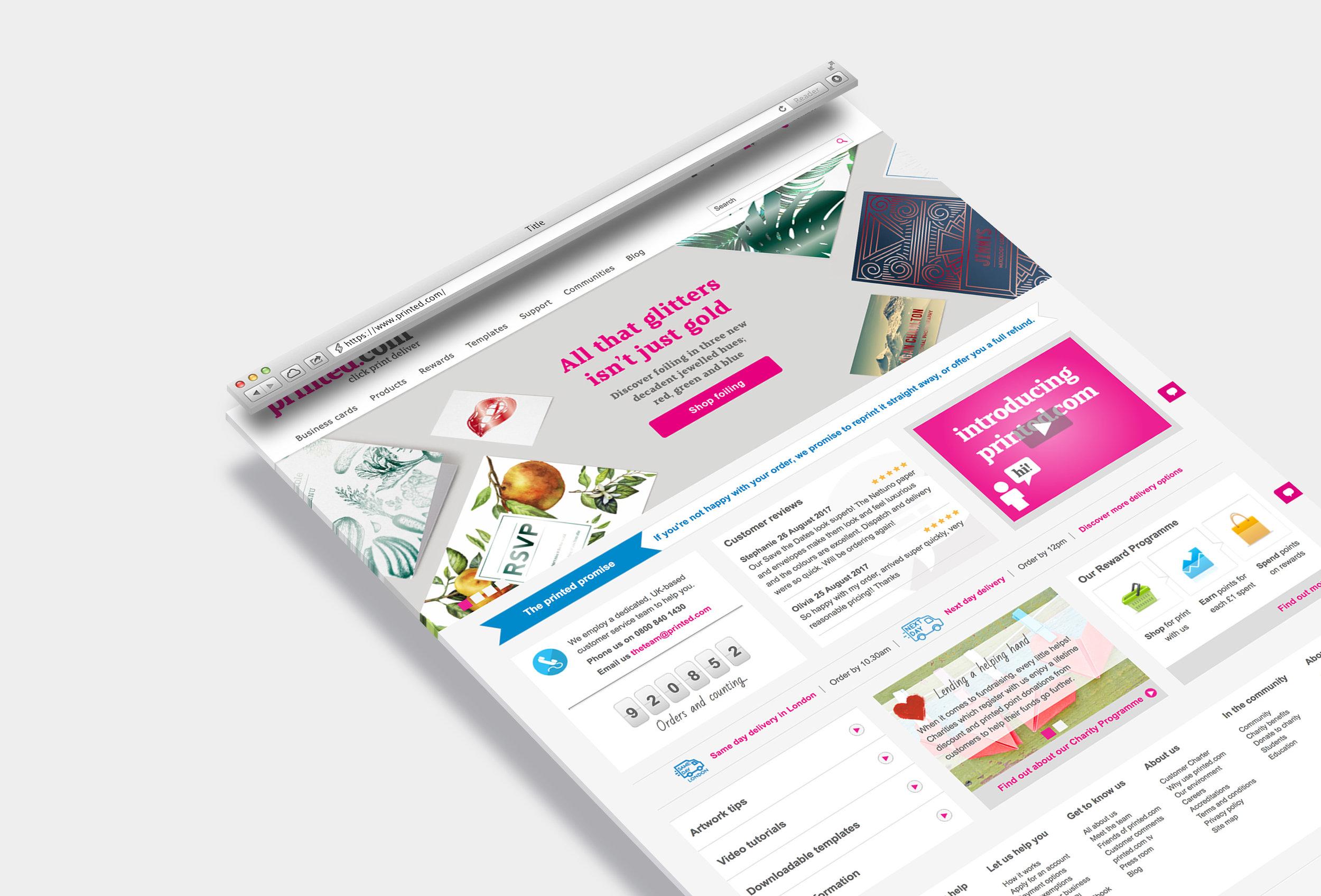 Website - printed.com