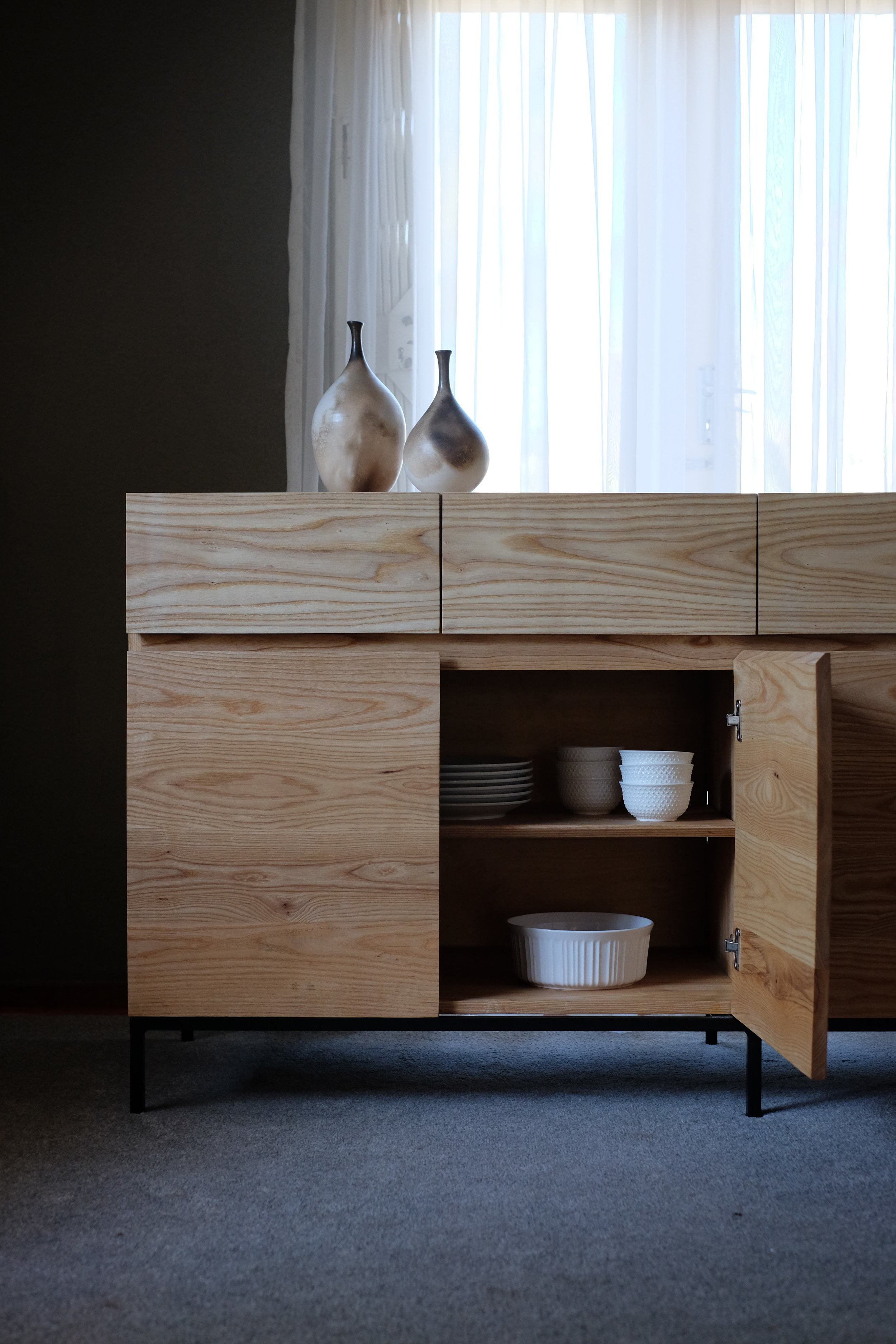 Server Cabinet by Manna Design Studio