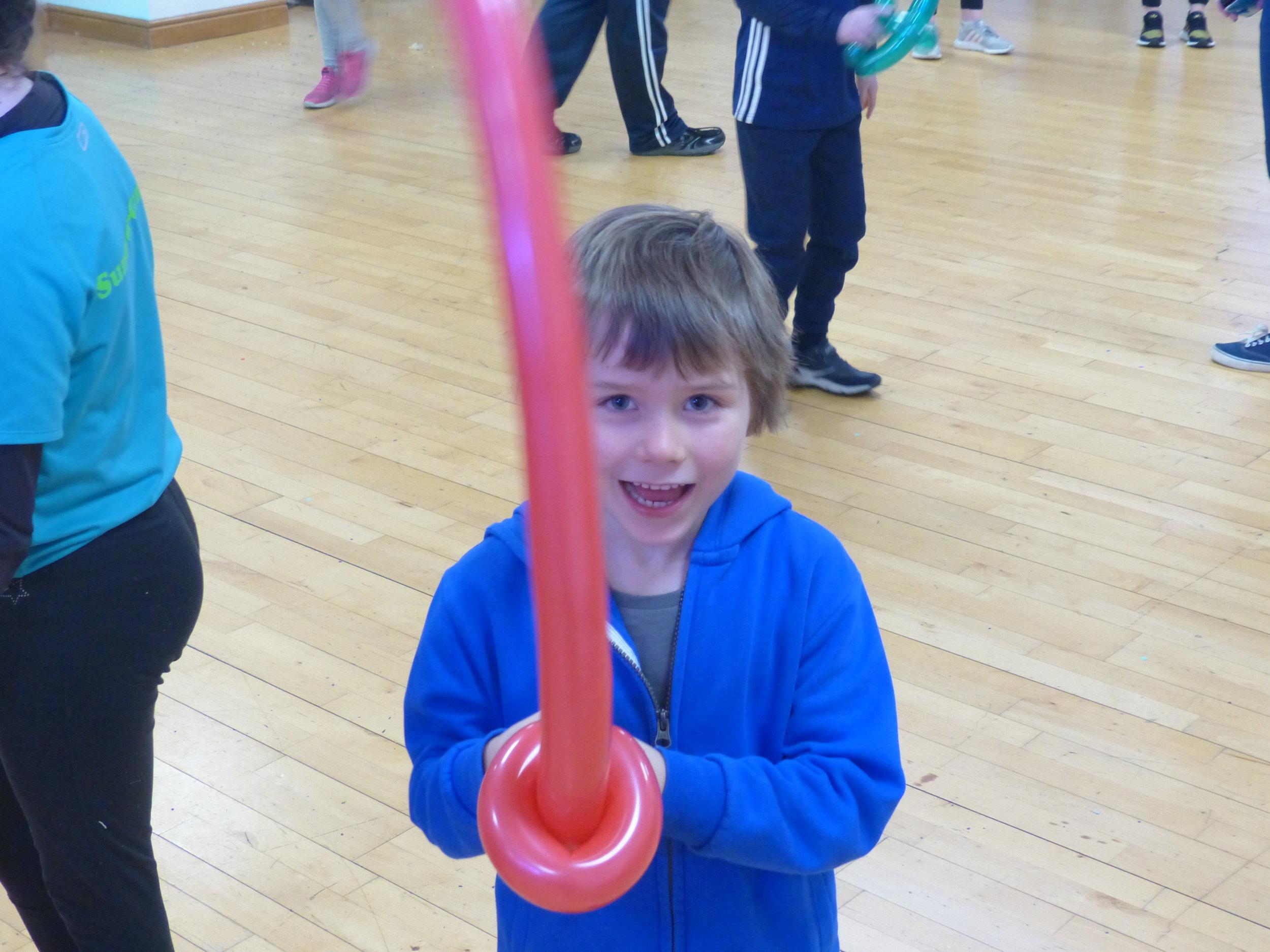 Balloon sword