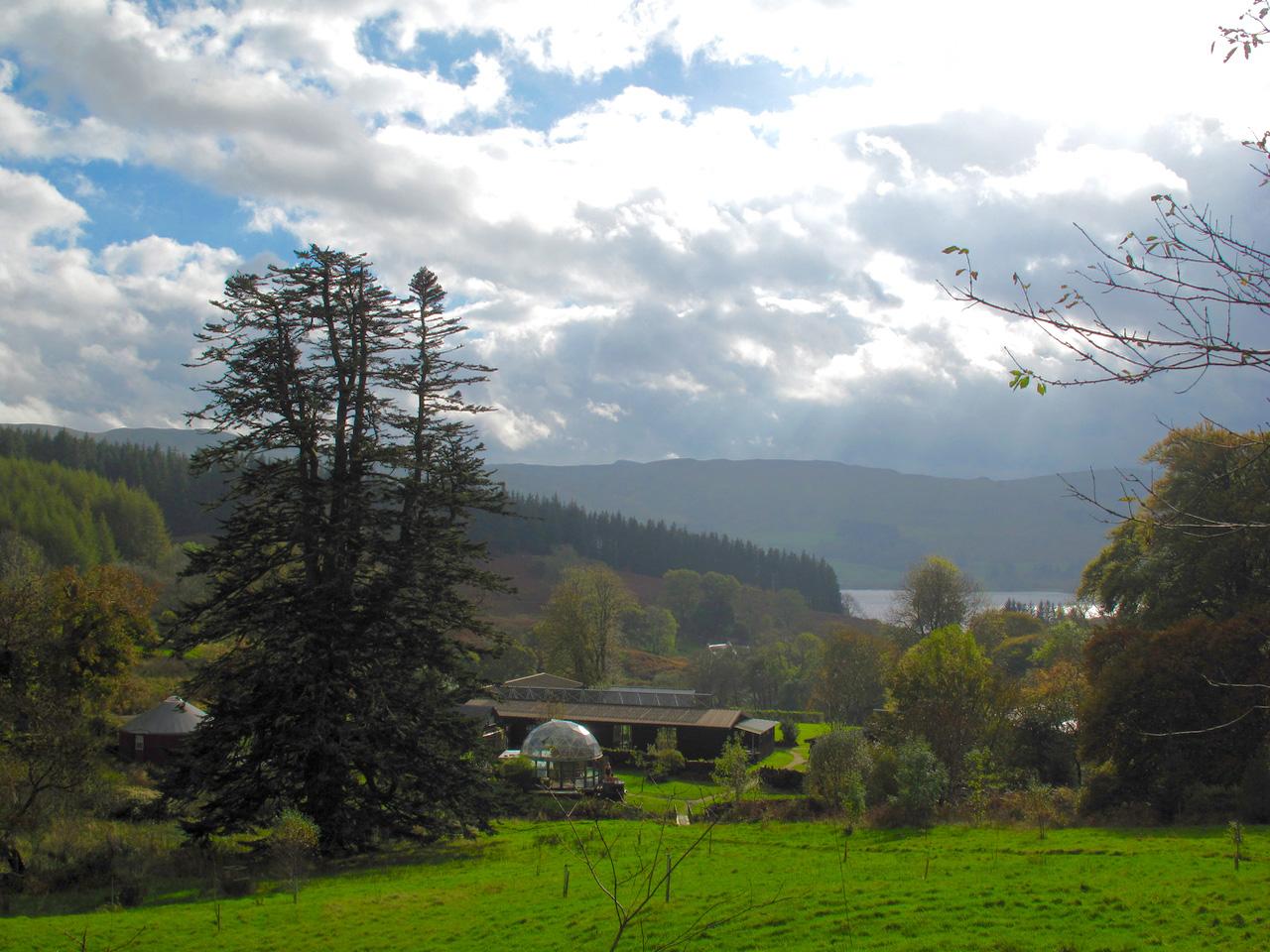 Yoga Explorers yoga holiday in Scotland - eco-retreat