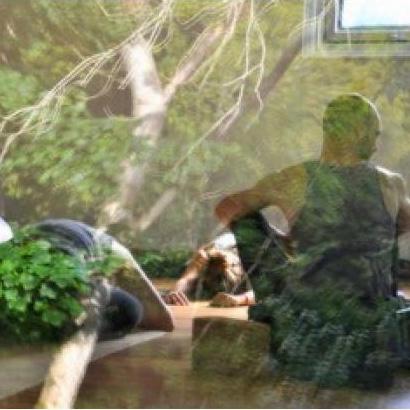 Yoga Explorers yoga holiday in Scotland - yoga studio