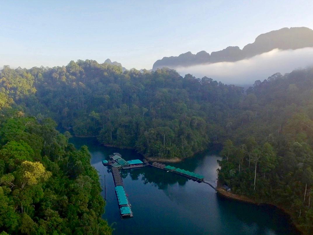 Thailand JungleYoga Retreat - Aerial view