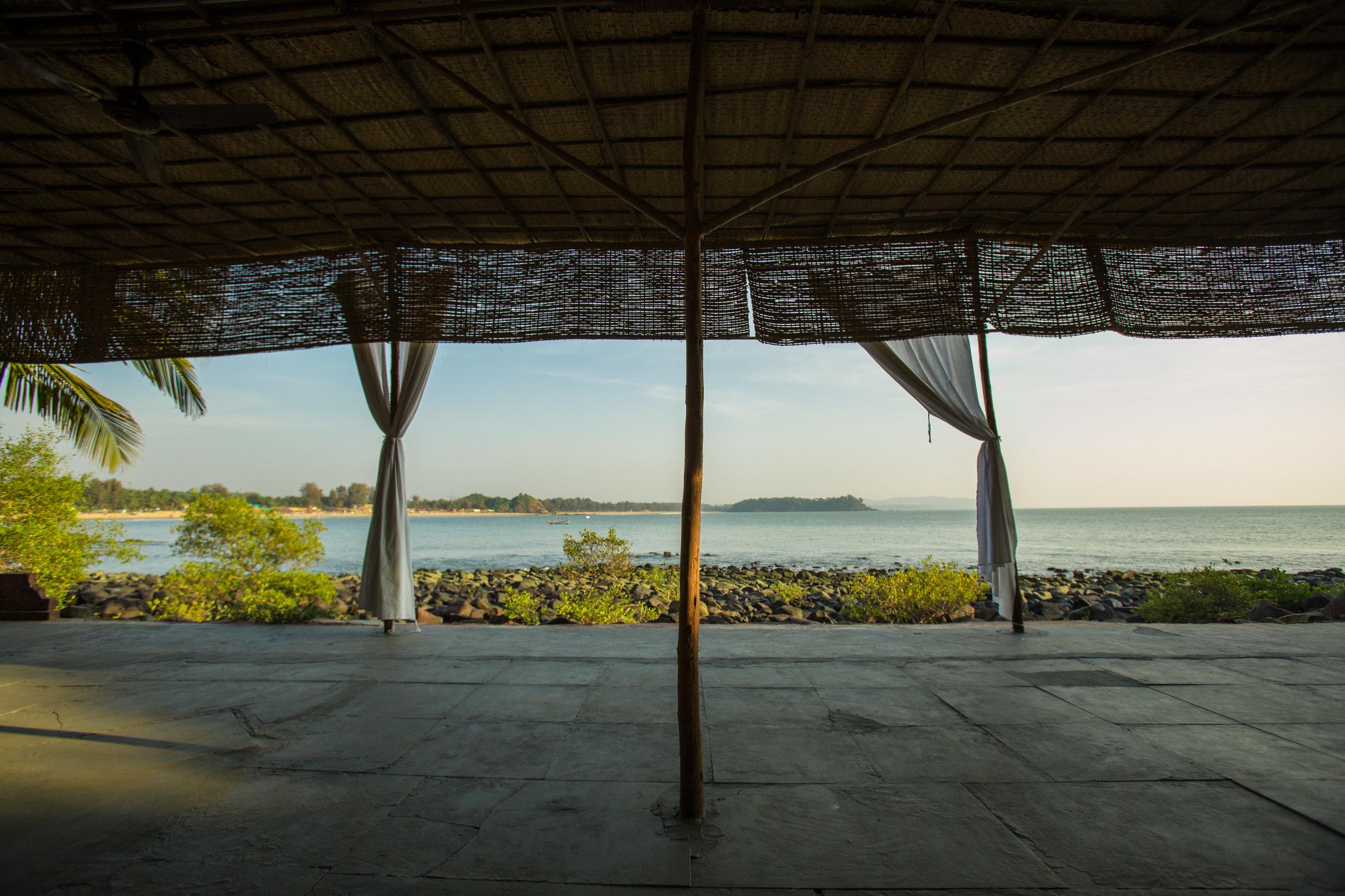 Yoga retreat Goa February with Yoga Explorers