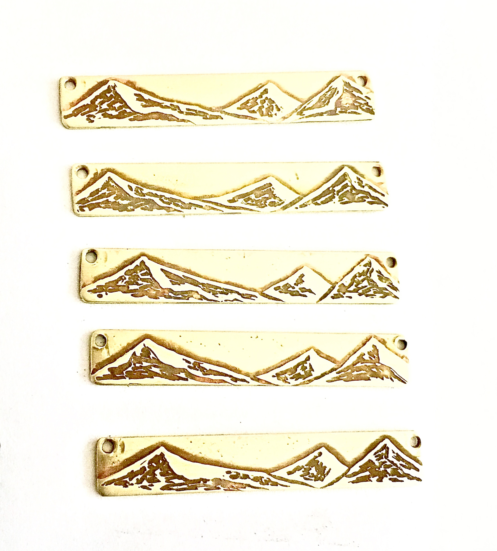 Three Sisters Mountain Necklaces