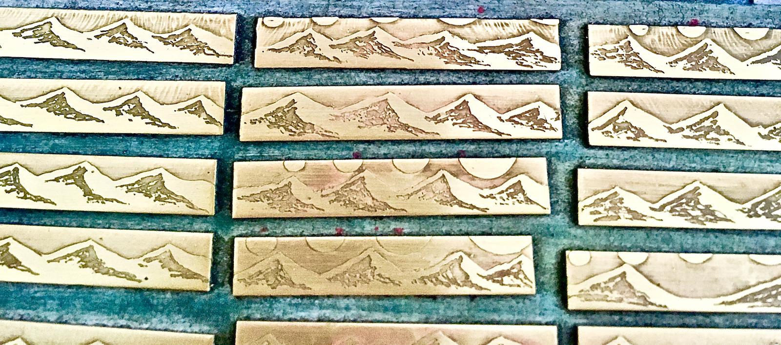Cascade Mountain Range Necklaces