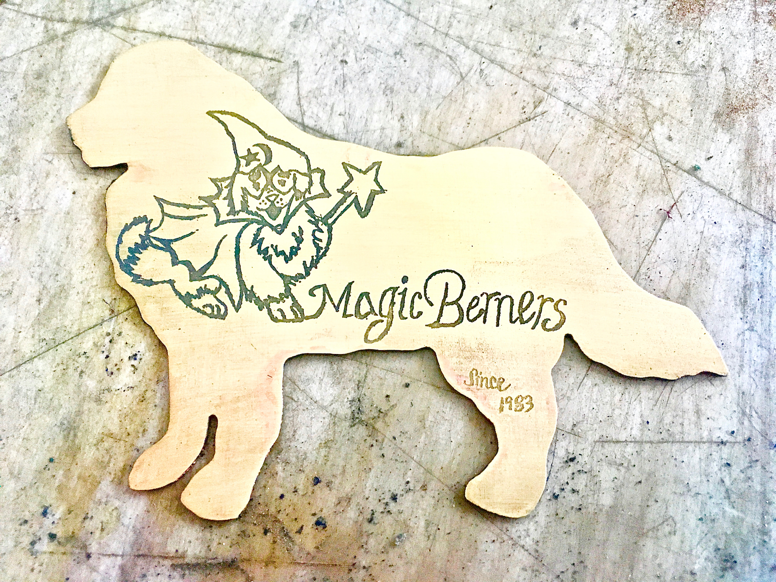 Custom Dog Cutout Keychain