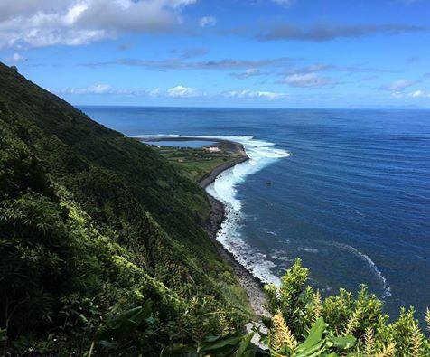 Boat trip from Terceira Island to 'Fajã de Sto Cristo'