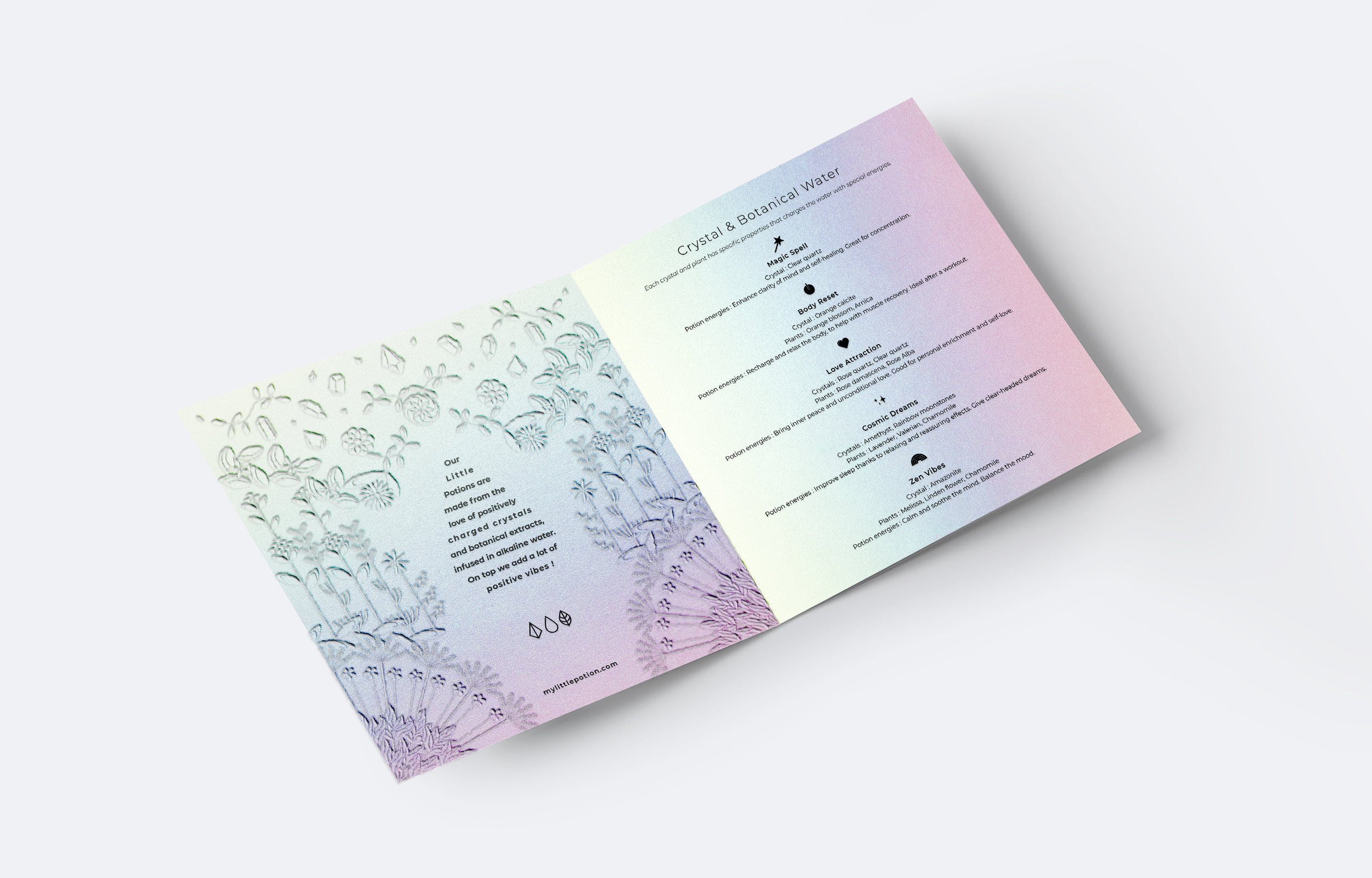 My Little Potion — Peackeyes - branding, graphic design