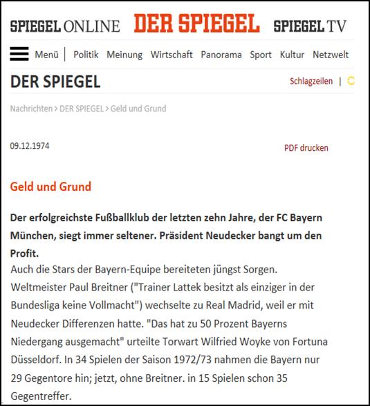 - Spiegel (09. Dez 1974) - Geld und GrundLink: http://www.spiegel.de/spiegel/print/d-41599812.html