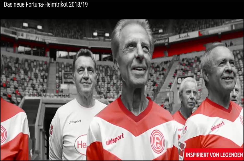 - Youtube (01. Juli 2018) - Das neue Fortuna-Heimtrikot 2018-19Link:https://www.youtube.com/watch?v=WYQQQzPkayU&feature=youtu.be