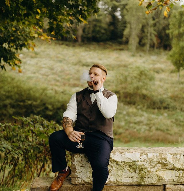 The grooms don't get enough love around here. This particular groom asked for specific pictures and he totally rocked them! So don't be afraid, boys, to ask for your own pictures. The brides don't have to get all the love!