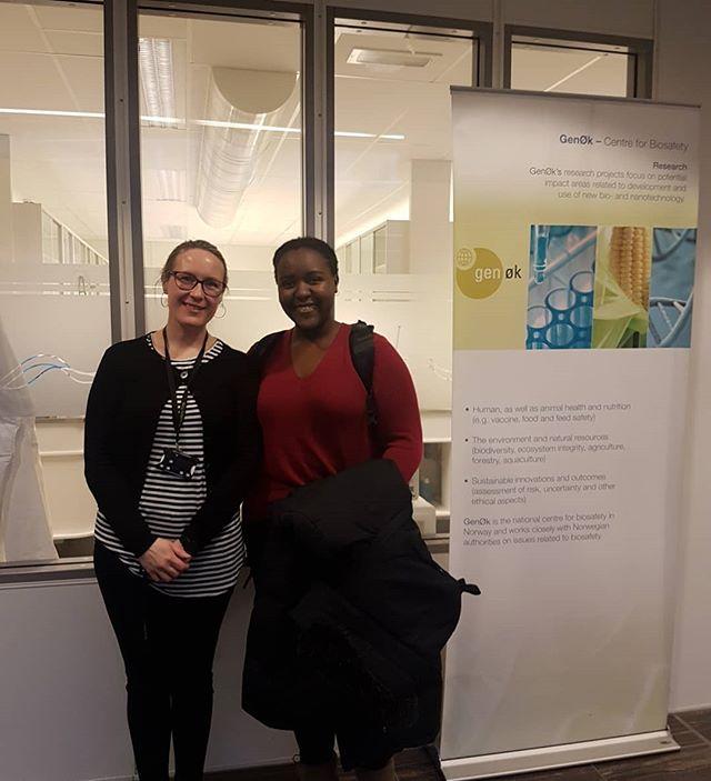 Takk for et lærerikt besøk hos GenØk 😊  Vi gleder oss til å høre mer om de spennende prosjektene deres.  06.03.2018