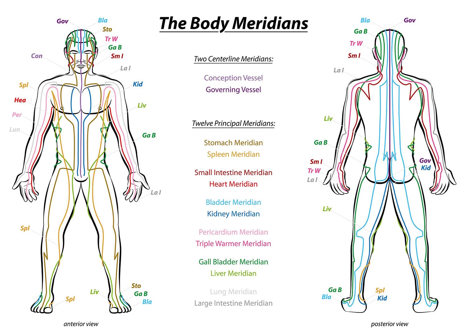 external qi healing treatment techniques address the organs and the body meridians
