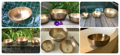 Zen Therapeutic Singing Bowls are crafted for vibration and sound