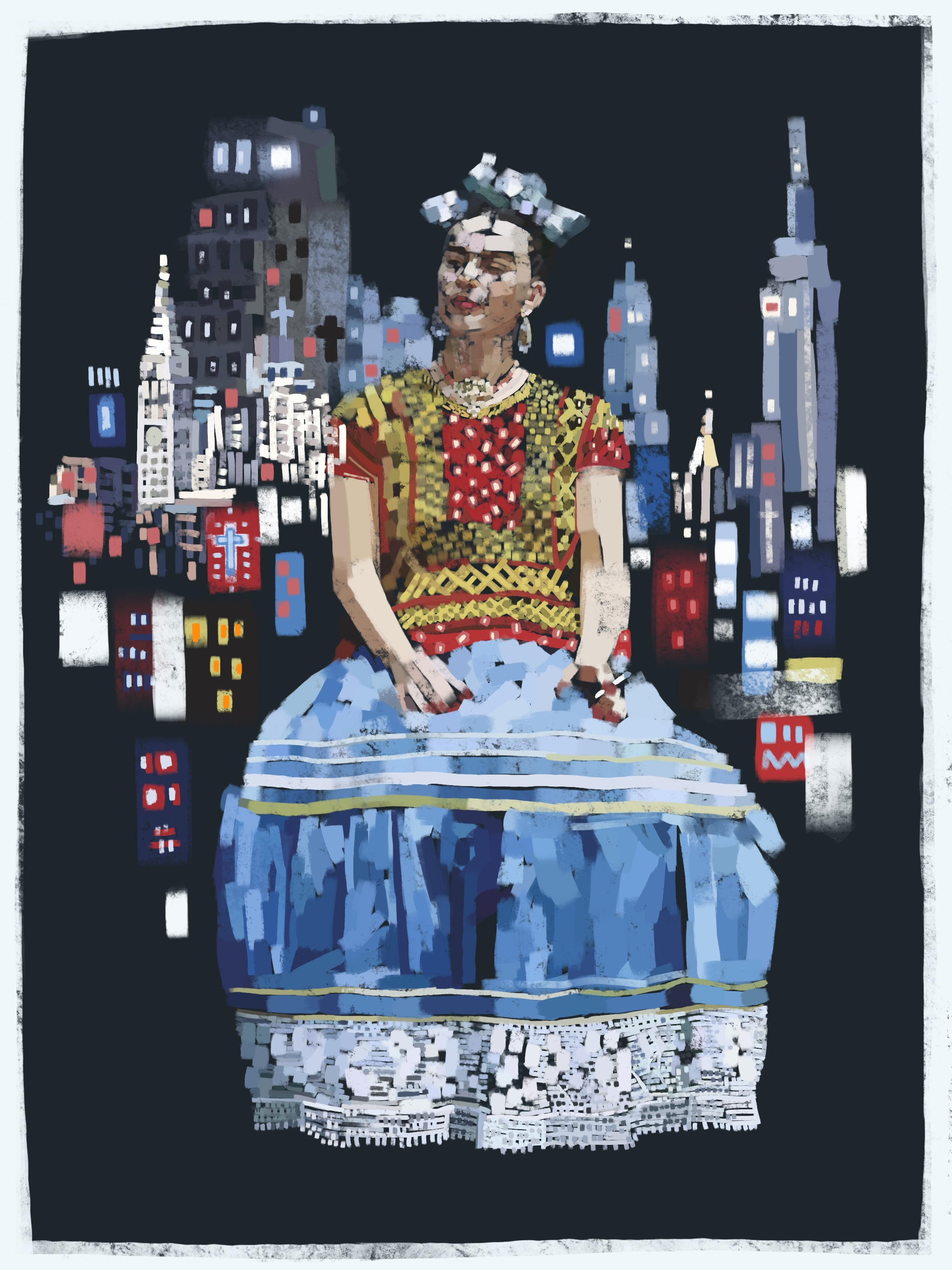 Frida in New York City