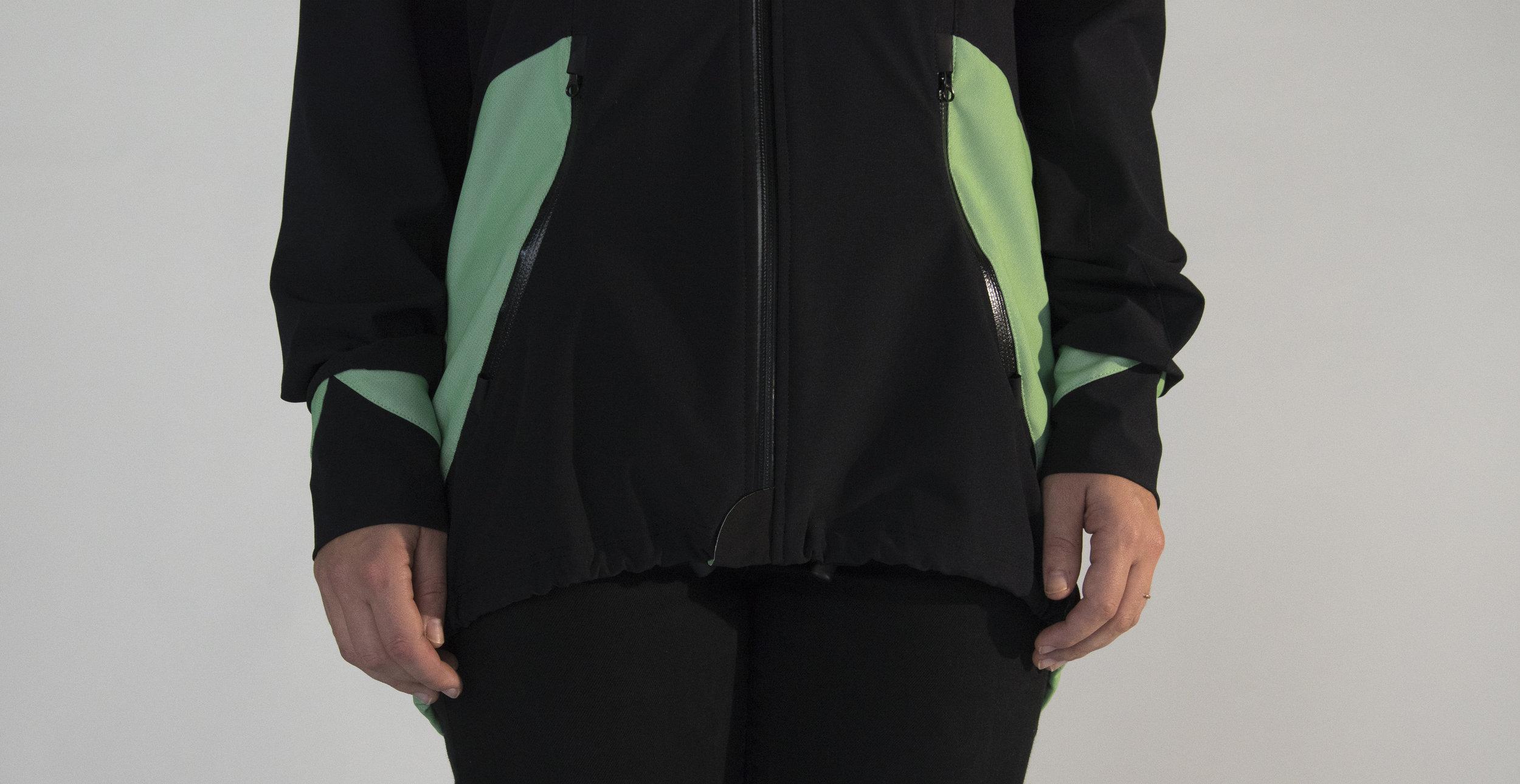 Highly waterproof & windproof zippers