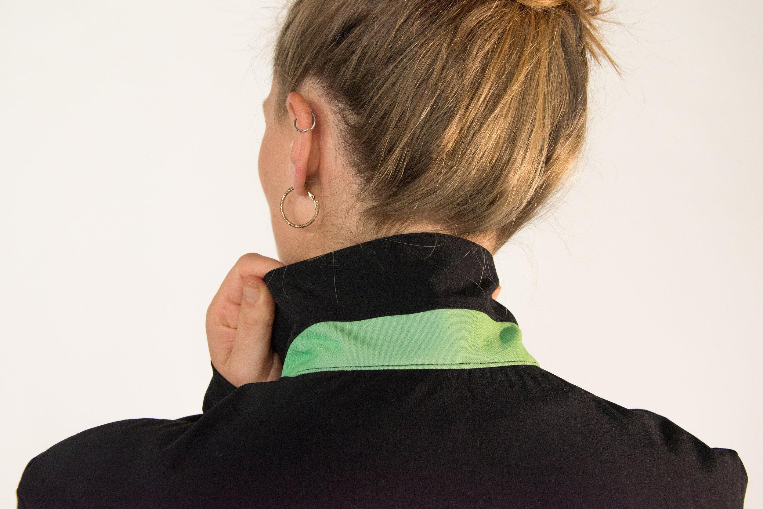 Reflective & reversible collar