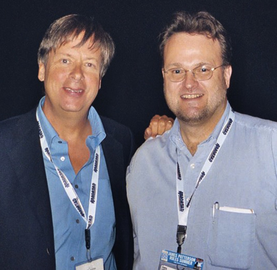 Dave Barry and me at BookExpo 2006 in New York.
