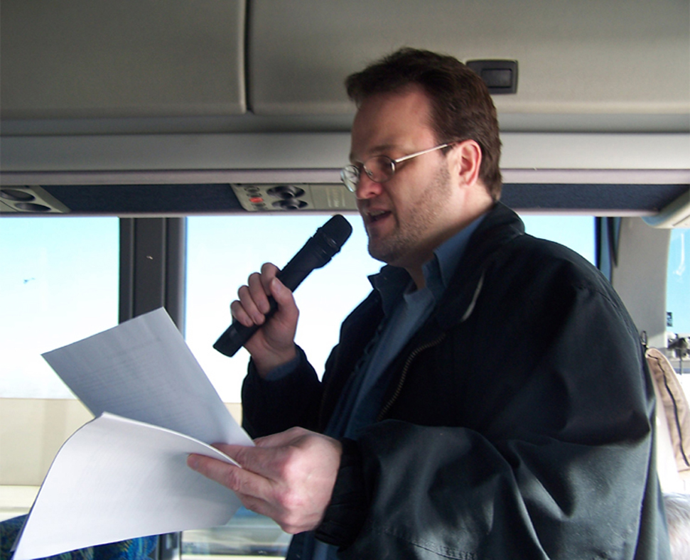 Larry Portzline, the creator of the Bookstore Tourism movement.