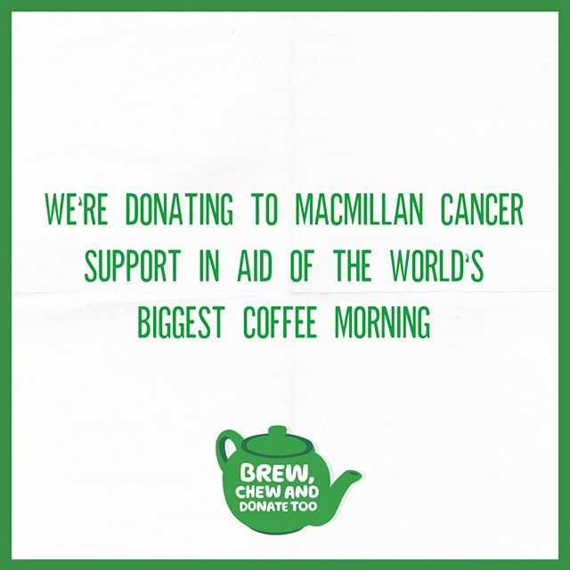 To say thank you for the impact they have on the people we know, love or may never meet – in Salisbury this week we are proudly supporting Macmillan Cancer Support by donating the price of every hot drink bought with breakfast and brunch to @maccoffeemorning.  Order a hot drink with your meal and we'll take it off your bill and add it to our donation collection so you can enjoy your food whilst knowing you've made a difference.  Check out our website for more!  #CoffeeMorning #CommunitySpirit