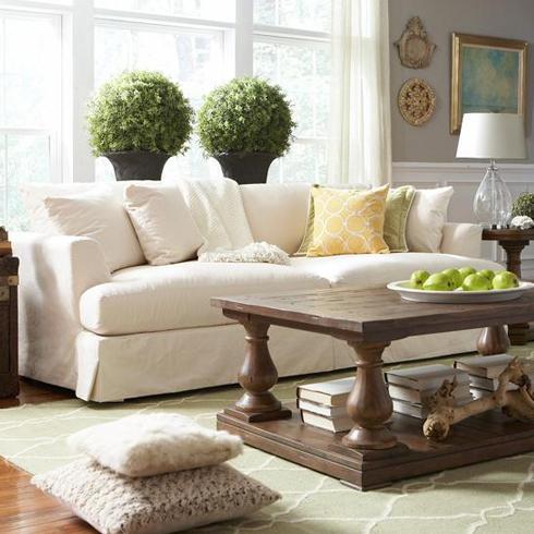 Cloud Slipcover Sofa at Belfort Furniture