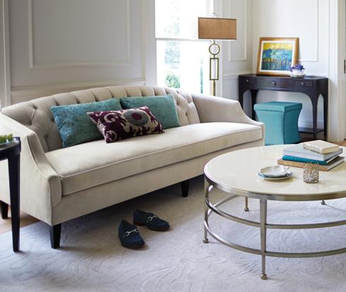 Diane Sofa at Belfort Furniture