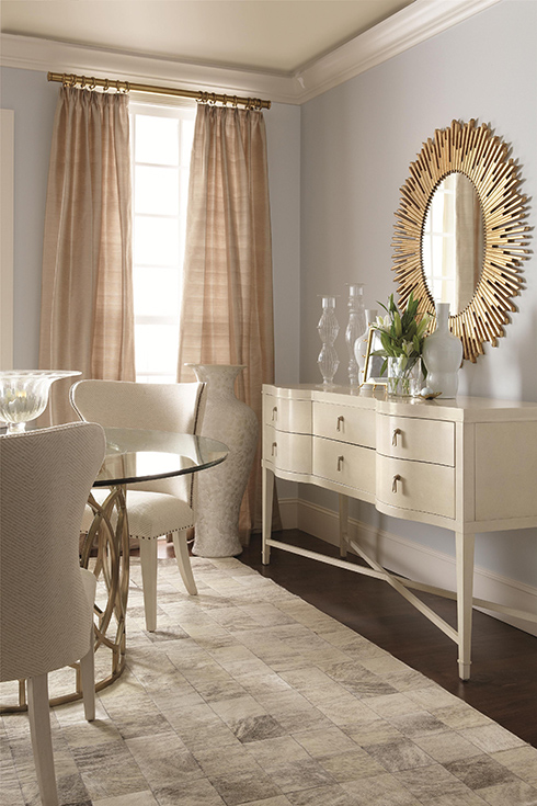 Salon Gold Sunburst Mirror at Belfort Furniture