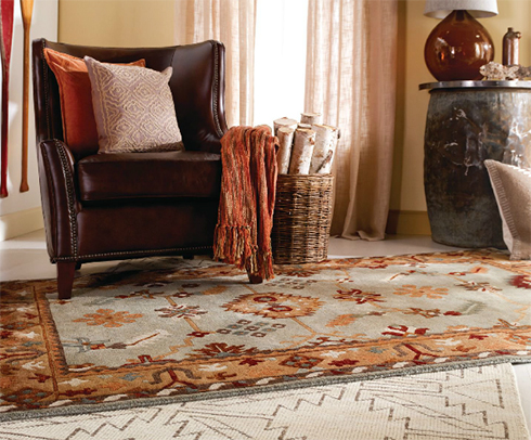 Surya Rugs, Pillows, and Throws at Belfort