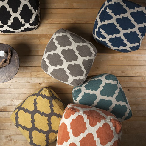 Surya-poufs-seating-for-teen-room
