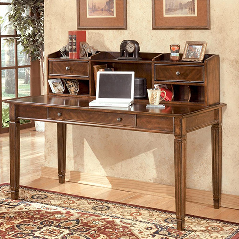 Hamlyn-Leg-Desk-and-Hutch-Belfort-Furniture