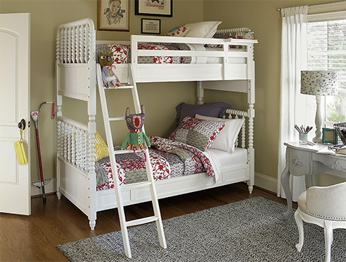 Bellamy Bunk Beds with Grey Desk