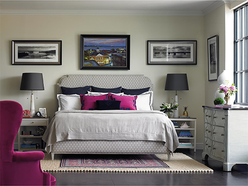 Charleston Regency by Stanley with Two Different Nightstands