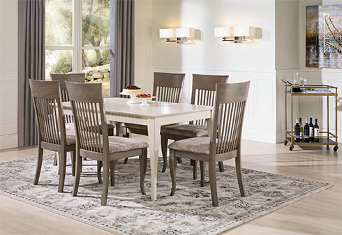 Gourmet Dining by Canadel at Belfort Furniture