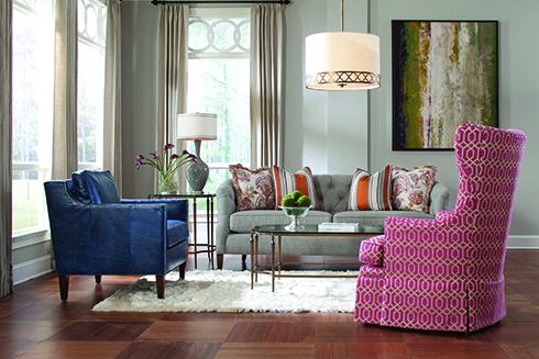 Huntington House 7477-20 Sofa Belfort Furniture