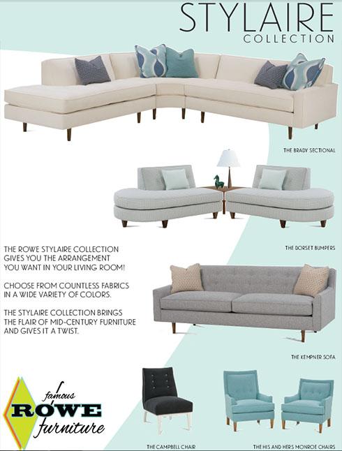 Rowe-Stylaire-Mid-Century-Modern-Belfort-Furniture