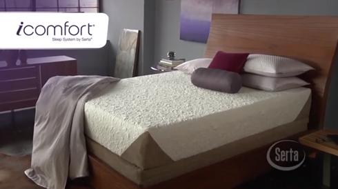 Serta iComfort Mattress at Belfort Furniture