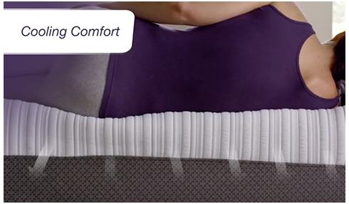 iComfort Mattress cooling comfort at Belfort Furniture