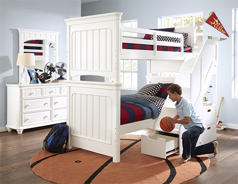 Campbell Bunk Bed at Belfort Furniture